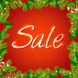 Royalty-Free Stock Vector Image: Xmas Sale Poster