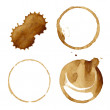 Coffee Stains Set — Stock Vector #47459523