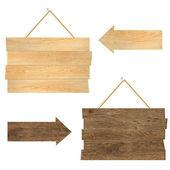 Wood Boards — Stock Vector