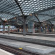 Central railway station in Cologne — Stock Photo