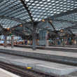 Central railway station in Cologne - Stock Photo