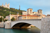 Lyon in september — Stock Photo