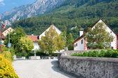 Liechtenstein in september — Stock Photo