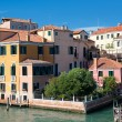 Buildings near the Grand Canal in Venice — Stock Photo