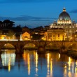 Vatican at night - Stock Photo