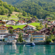 Village in the Alps - Stock Photo