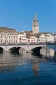 Saint Peter Church in Zurich — Stock Photo