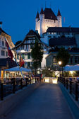 Thun at night — Stock fotografie