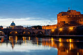 Roma at night — Stock Photo
