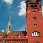 Basel Town Hall — Stock Photo #13897663