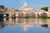 Vatican in the morning — Stock Photo