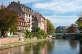 Houses of Strasbourg in the morning — Stock Photo