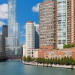 Chicago in september - Stock Photo