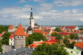 Buildings in Old Town of Tallinn — Photo
