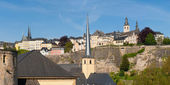 City of Luxembourg — Stock Photo