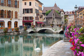 Annecy in september — Stock Photo