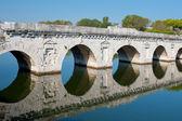 Bridge of Tiberius — Stock Photo