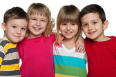 Cheerful children — Stock Photo