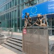 Stock Photo: EuropeCommission building in Brussels