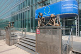 European Commission building in Brussels — Stock Photo
