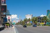 Walking along The Las Vegas Strip — Stock Photo