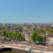 Historic buildings and a canal in Amsterdam — Stock Photo #16374909