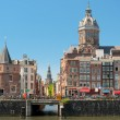 Historic buildings in Amsterdam - Zdjcie stockowe