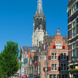 Delft in summer - Stock Photo
