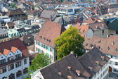 Rooftops of old town of Basel — Stock Photo