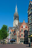 Delft in summer — Stock Photo