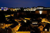 View on Grund at night — Stockfoto