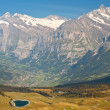Alps valley — Stock Photo