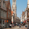 Stock Photo: Bruges historic center