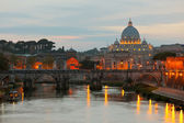 Vatican at early evening — Stock Photo