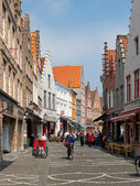 Old streets of Bruges — Stock Photo