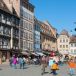 Old town of Strasbourg - Stock Photo