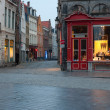 Historic center of Bruges — Stock Photo