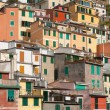 Buildings of Riomaggiore - Stock Photo