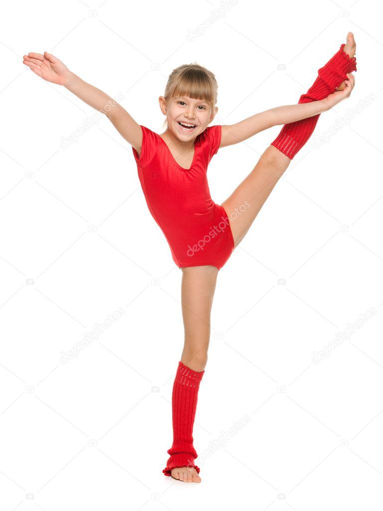 Русские маленькие гимнастки 20 фотография