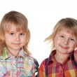 Two smiling pretty little girls — Stock Photo #21503611