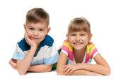 Cheerful children — Stock Photo