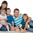 Happy family together — Stock Photo #24041259