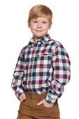 Kızıl saçlı bir çocuk portresi — Stok fotoğraf