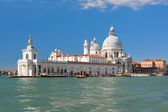 Basilica Della Salute in Venice in a sunny day — Stock Photo