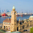 Port in Hamburg — Stock Photo #29843829