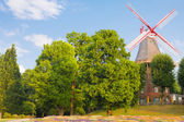 Windmill in Bremen — Stock Photo