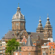 Stock Photo: Basilicof St. Nicholas in Amsterdam