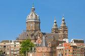 Базилика Святого Николая в Амстердаме — Стоковое фото