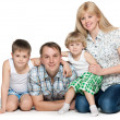 Family of four — Stock Photo #30536887