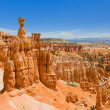 Summer day in Bryce Canyon — Stock Photo